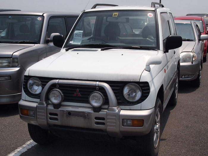 Mitsubishi Pajero Mini I 1994 - 1998 SUV 3 door #2