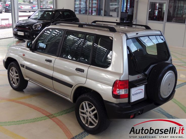 Mitsubishi Pajero Pinin 1998 - 2006 SUV 5 door #8