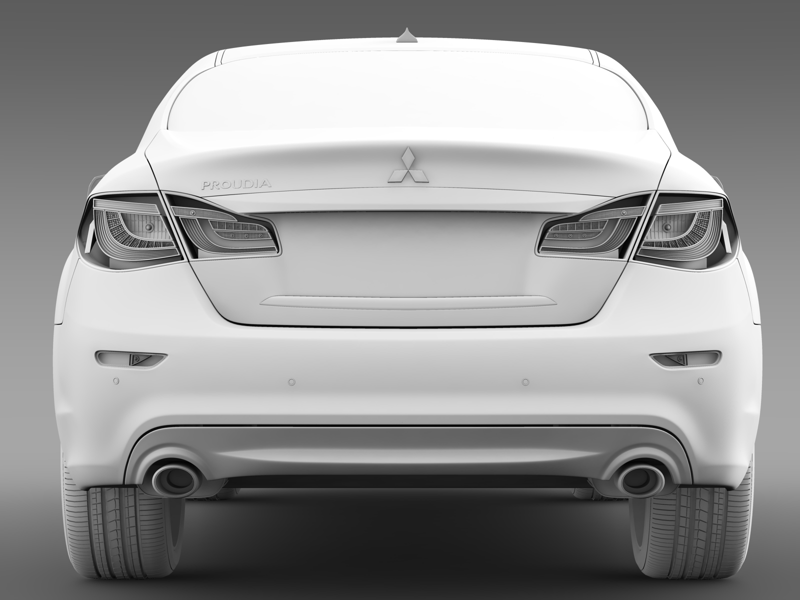 Mitsubishi Proudia II 2012 - 2016 Sedan #4