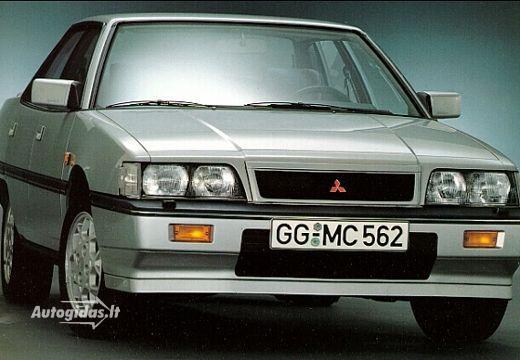 Mitsubishi Sapporo II 1987 - 1990 Sedan #1
