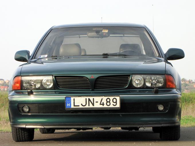 Mitsubishi Sigma 1990 - 1996 Sedan #4