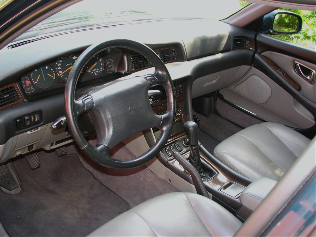 Mitsubishi Sigma 1990 - 1996 Sedan #7