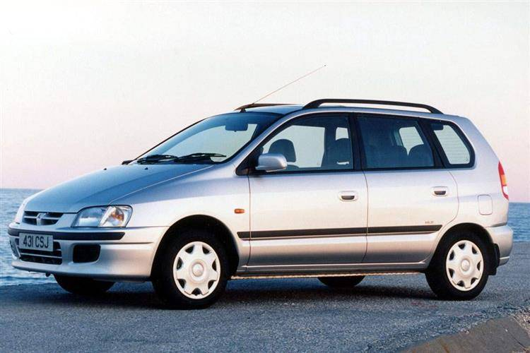 Mitsubishi Space Star I 1999 - 2002 Compact MPV #3