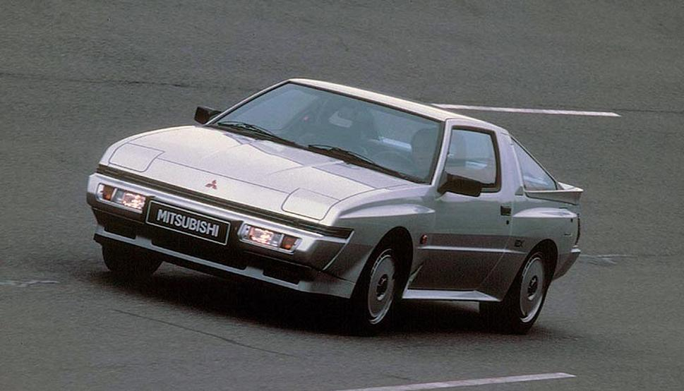 Mitsubishi Starion 1982 - 1989 Coupe #2