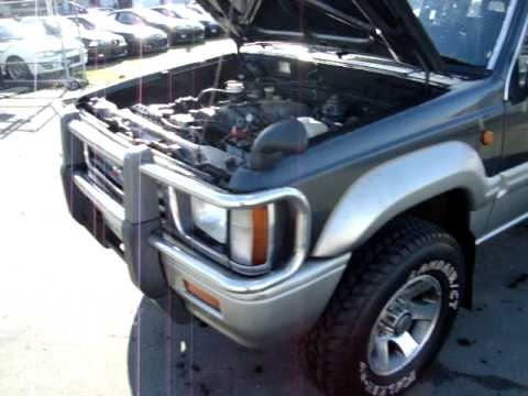 Mitsubishi Strada I 1991 - 1997 Pickup #8