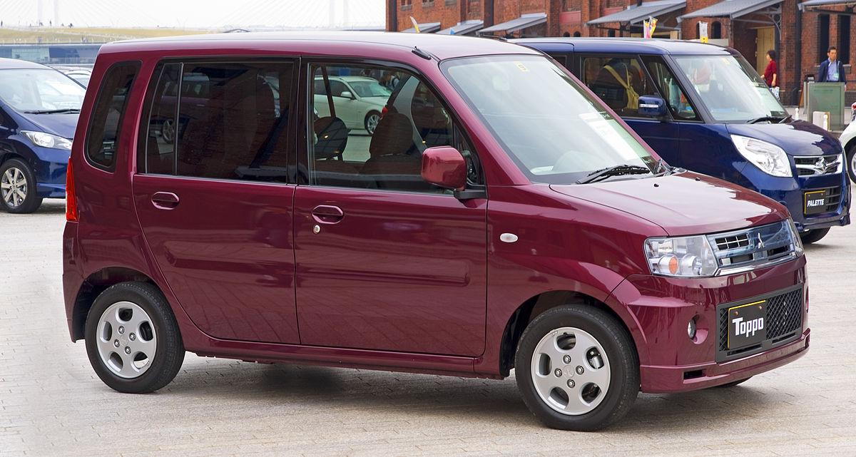 Mitsubishi Toppo II 1998 - 2004 Compact MPV #8