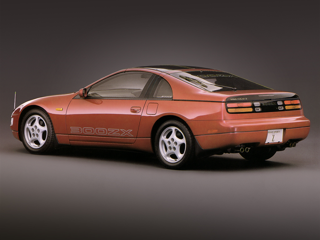 Nissan 300ZX II (Z32) 1989   2000 Coupe #4