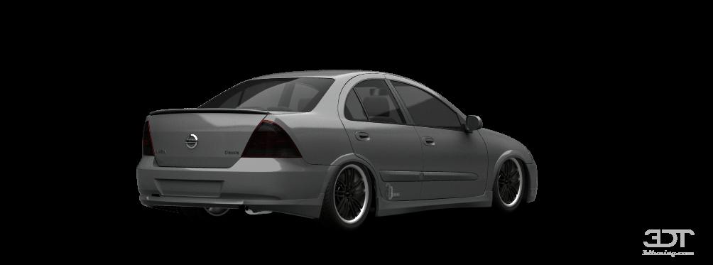Nissan Almera Classic I 2006 - 2012 Sedan #4