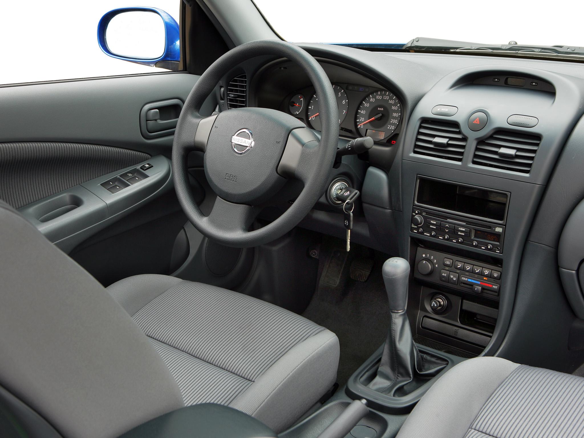 Nissan Almera Classic I 2006 - 2012 Sedan #5