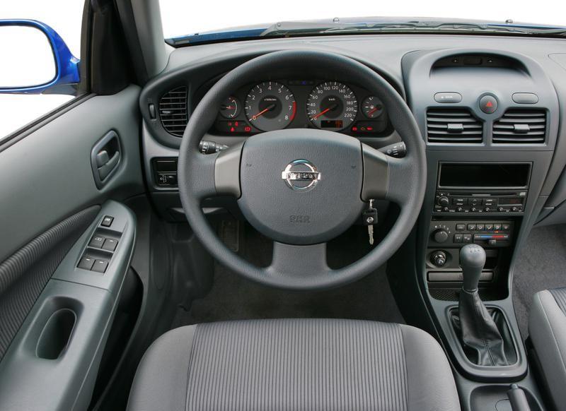 Nissan Almera Classic I 2006 - 2012 Sedan #6