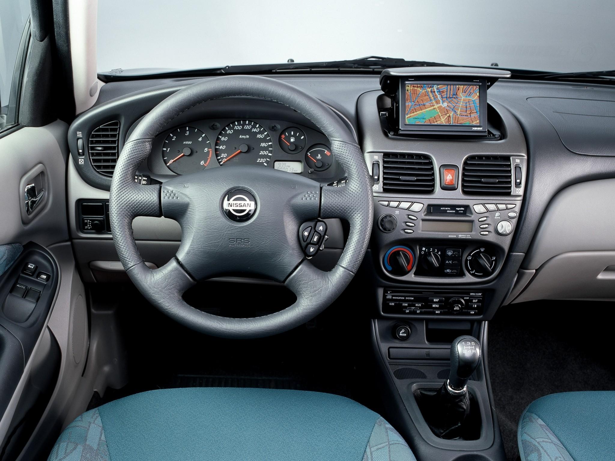 nissan almera ii n16 2000 2003 sedan outstanding cars. Black Bedroom Furniture Sets. Home Design Ideas