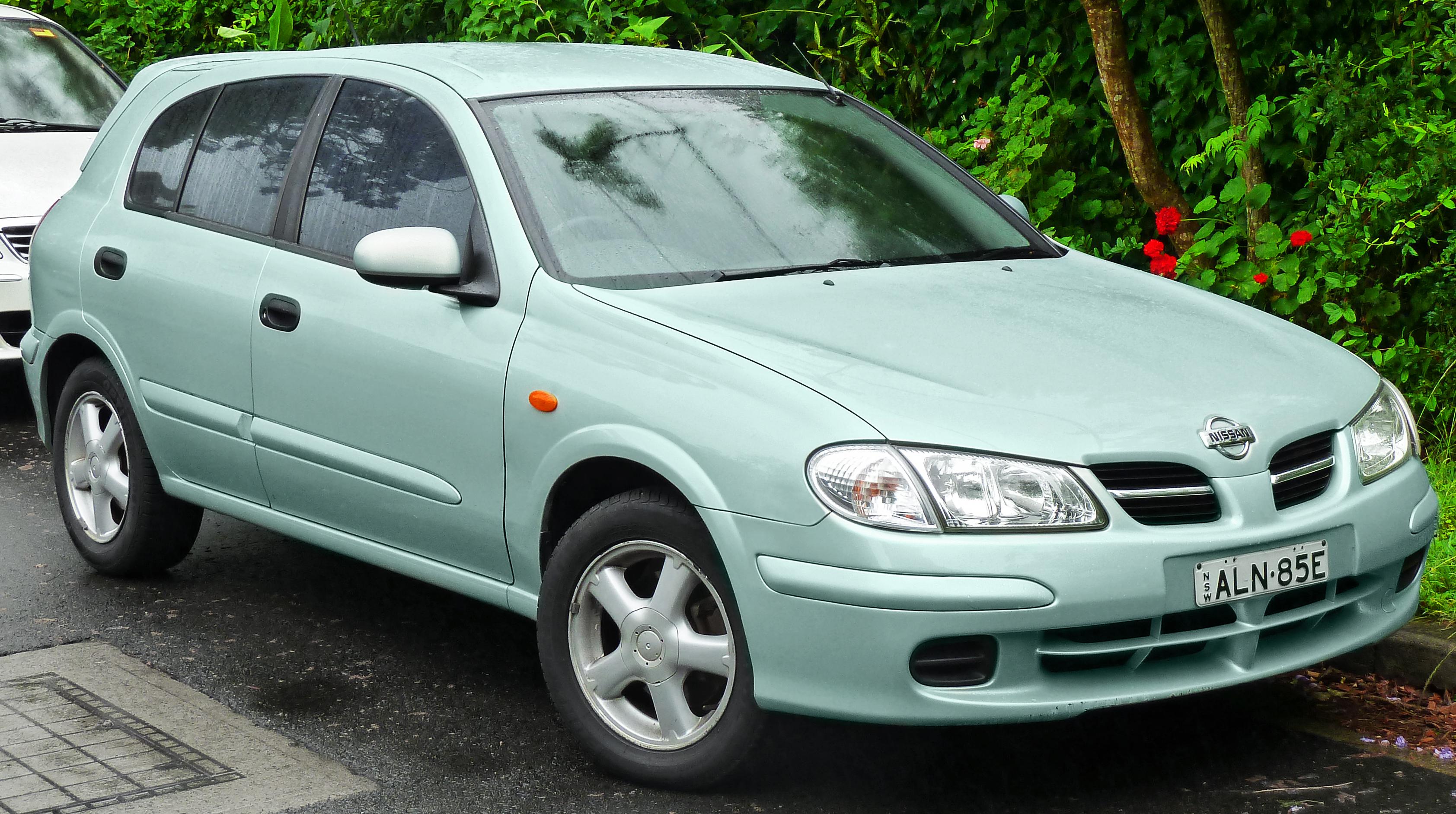 Nissan Almera Ii N16 2000 2003 Hatchback 5 Door Outstanding Cars