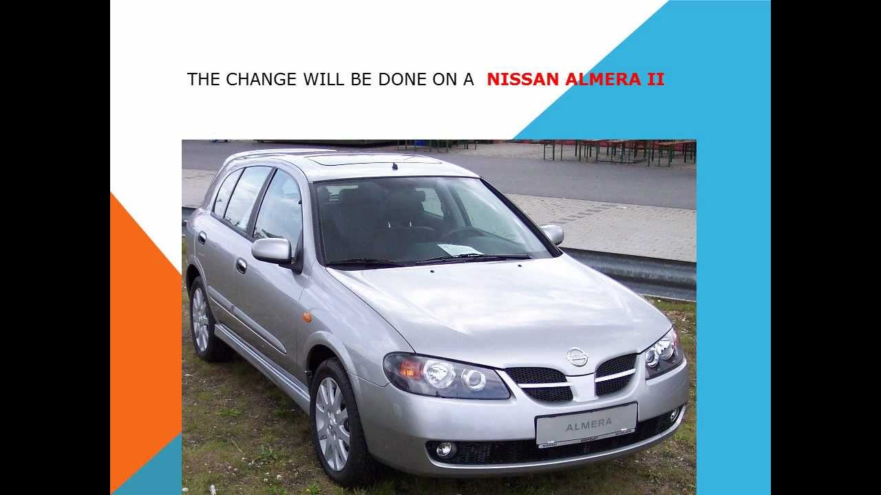 Nissan Almera Ii N16 2000 2003 Sedan Outstanding Cars Corolla Fuel Filter Location 5