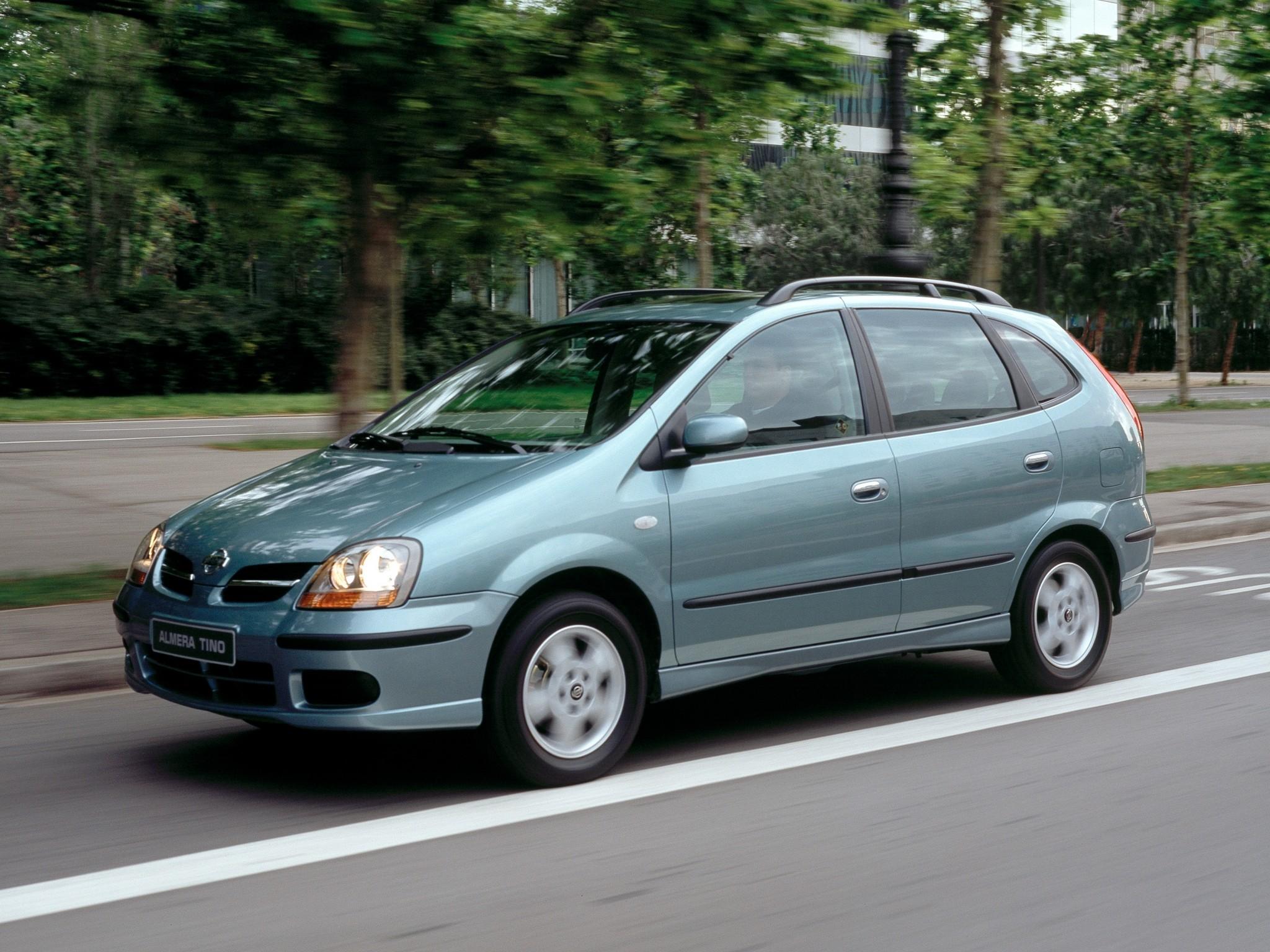 Nissan Almera Tino I 2000 - 2003 Compact MPV #5