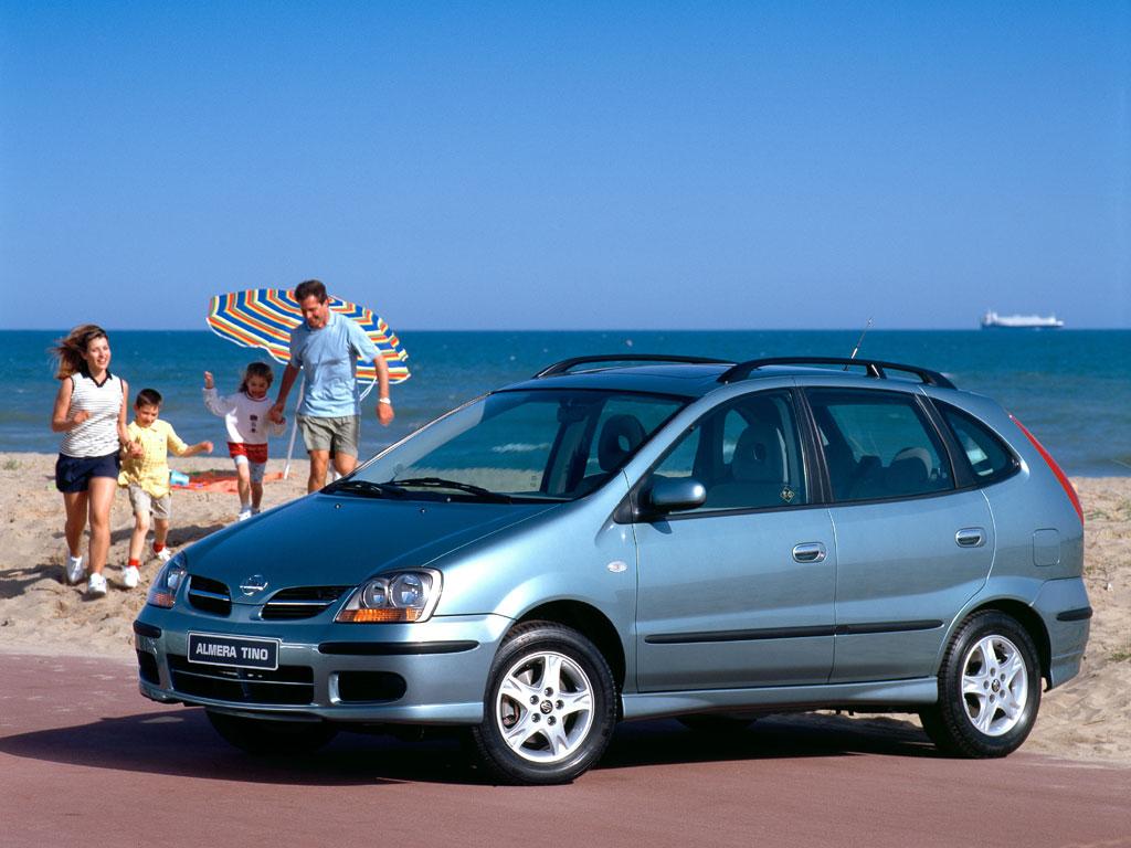 Nissan Almera Tino I 2000 - 2003 Compact MPV #7