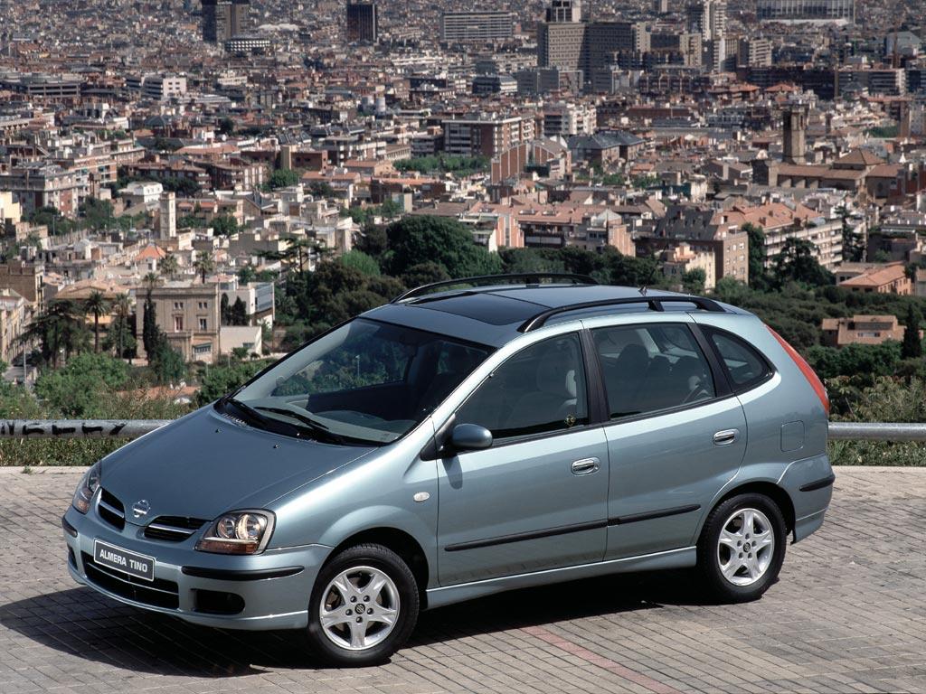 Nissan Almera Tino I 2000 - 2003 Compact MPV #6
