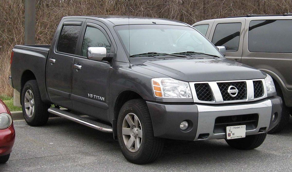 Nissan Titan I 2003 - 2006 Pickup #8