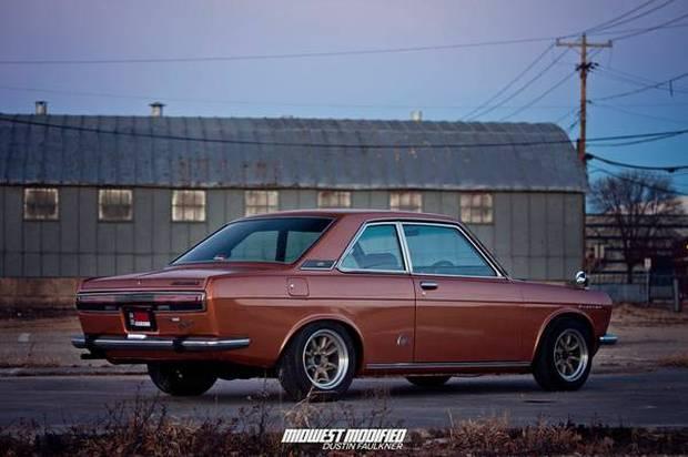 Nissan Bluebird IV (610) 1971 - 1976 Sedan #1