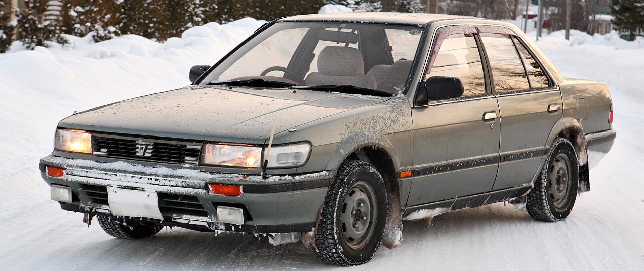 Nissan Bluebird IX (U12) 1987 - 1991 Sedan #7