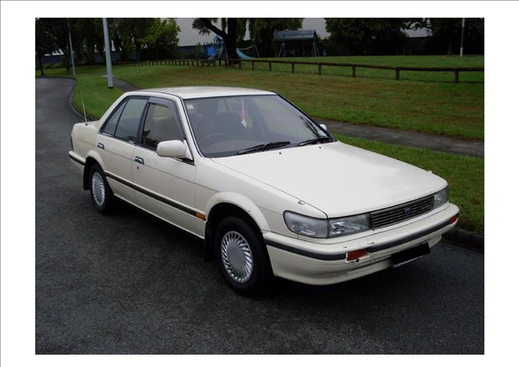 Nissan Bluebird IX (U12) 1987 - 1991 Sedan #1