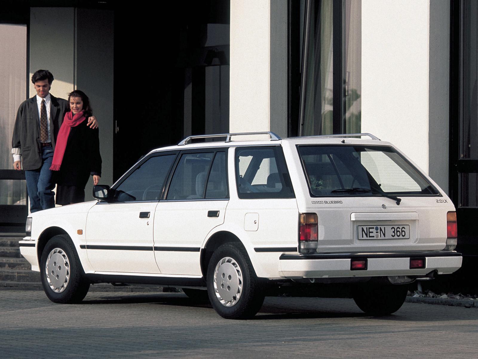 Nissan Bluebird VII (U11) 1983 - 1990 Station wagon 5 door #1