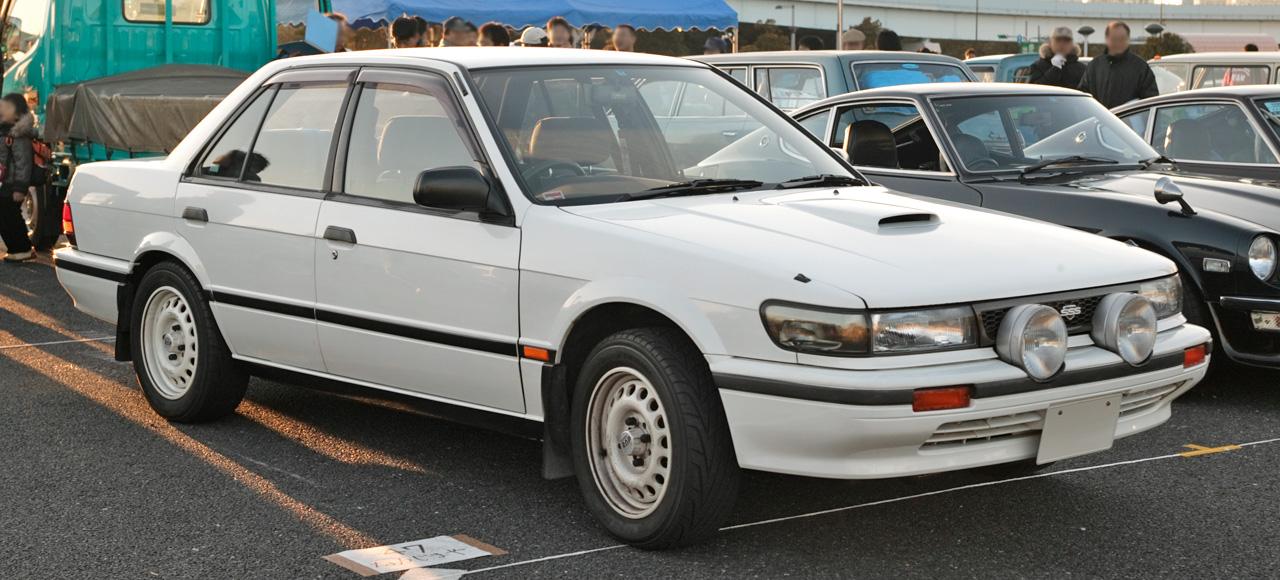 Nissan Bluebird VII (U11) 1983 - 1990 Station wagon 5 door #4