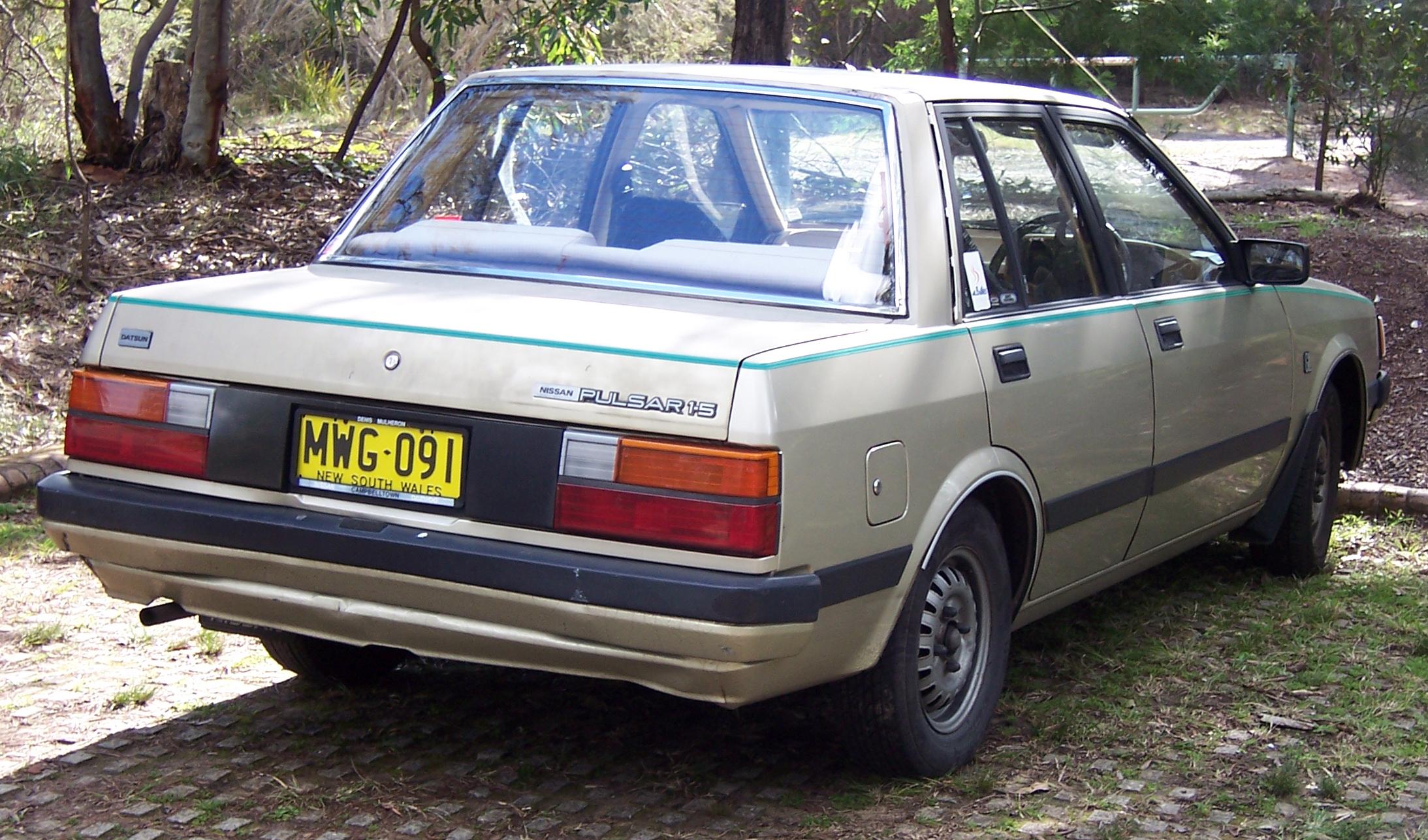 Nissan Pulsar II (N12) 1982 - 1986 Cabriolet #6