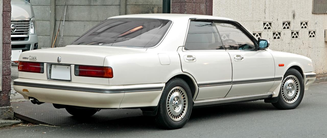 Nissan Cima I (Y31) 1988 - 1991 Sedan-Hardtop #2