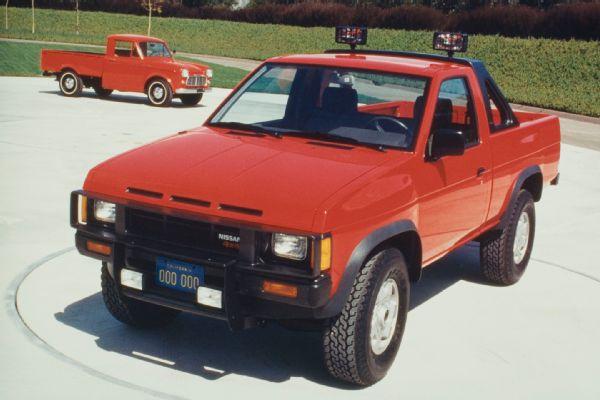 Nissan Datsun D Pickup Interior