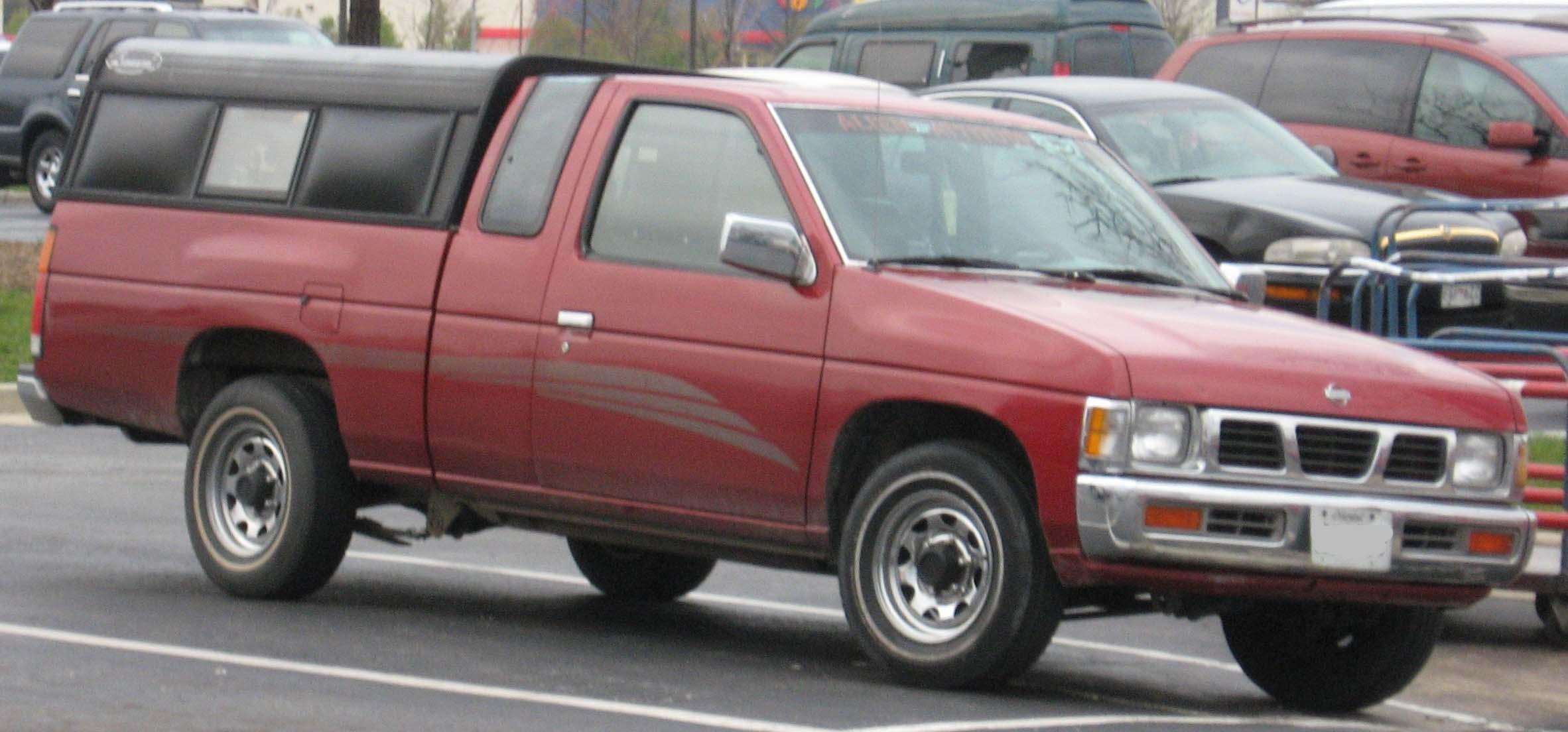Nissan Navara (Frontier) I (D21) 1985 - 1997 Pickup #8
