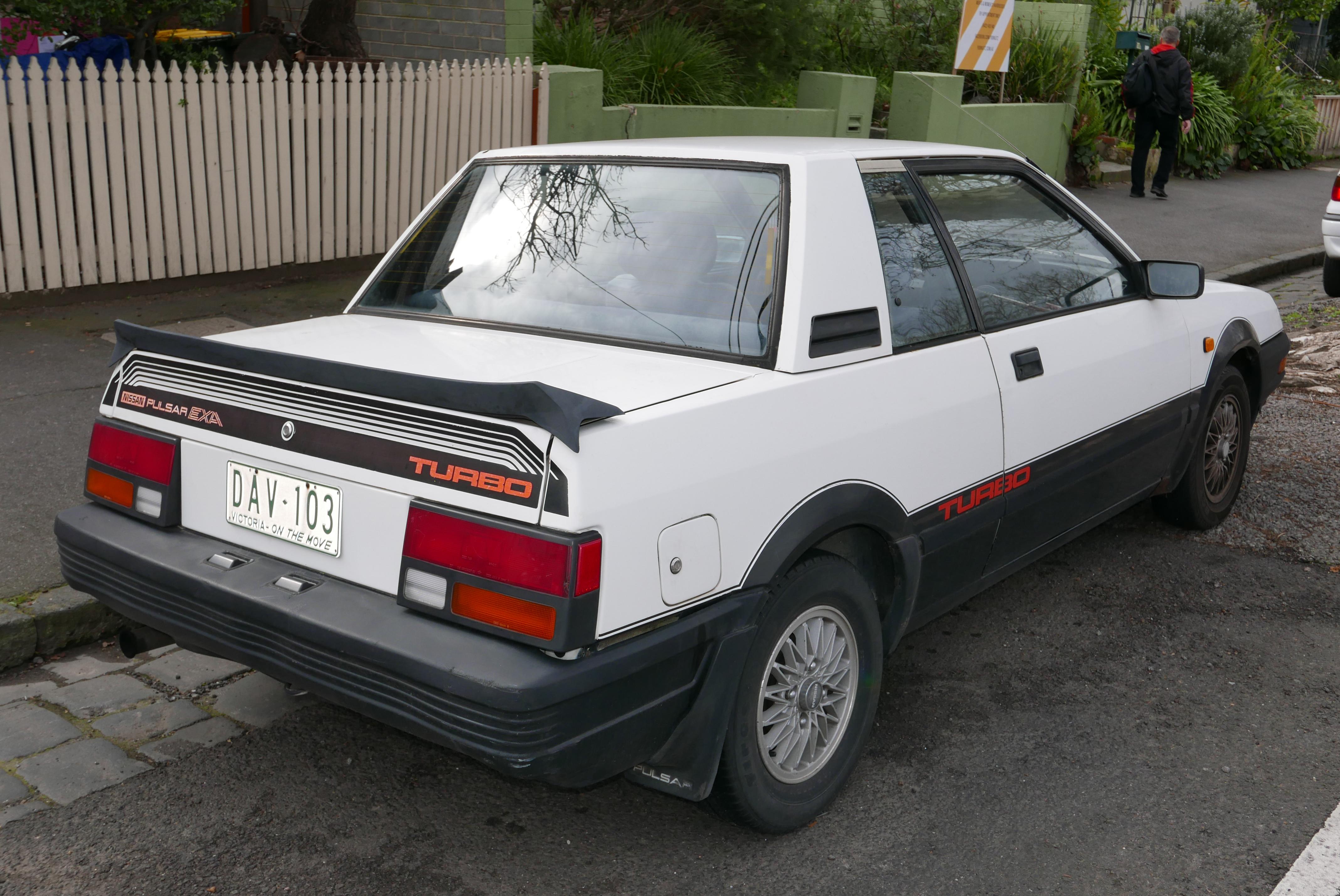 Nissan Pulsar II (N12) 1982 - 1986 Cabriolet #5