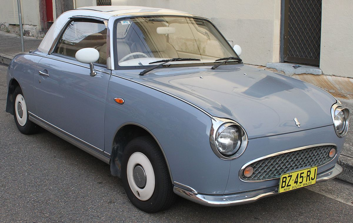 Nissan Figaro 1991 - 1992 Coupe :: OUTSTANDING CARS