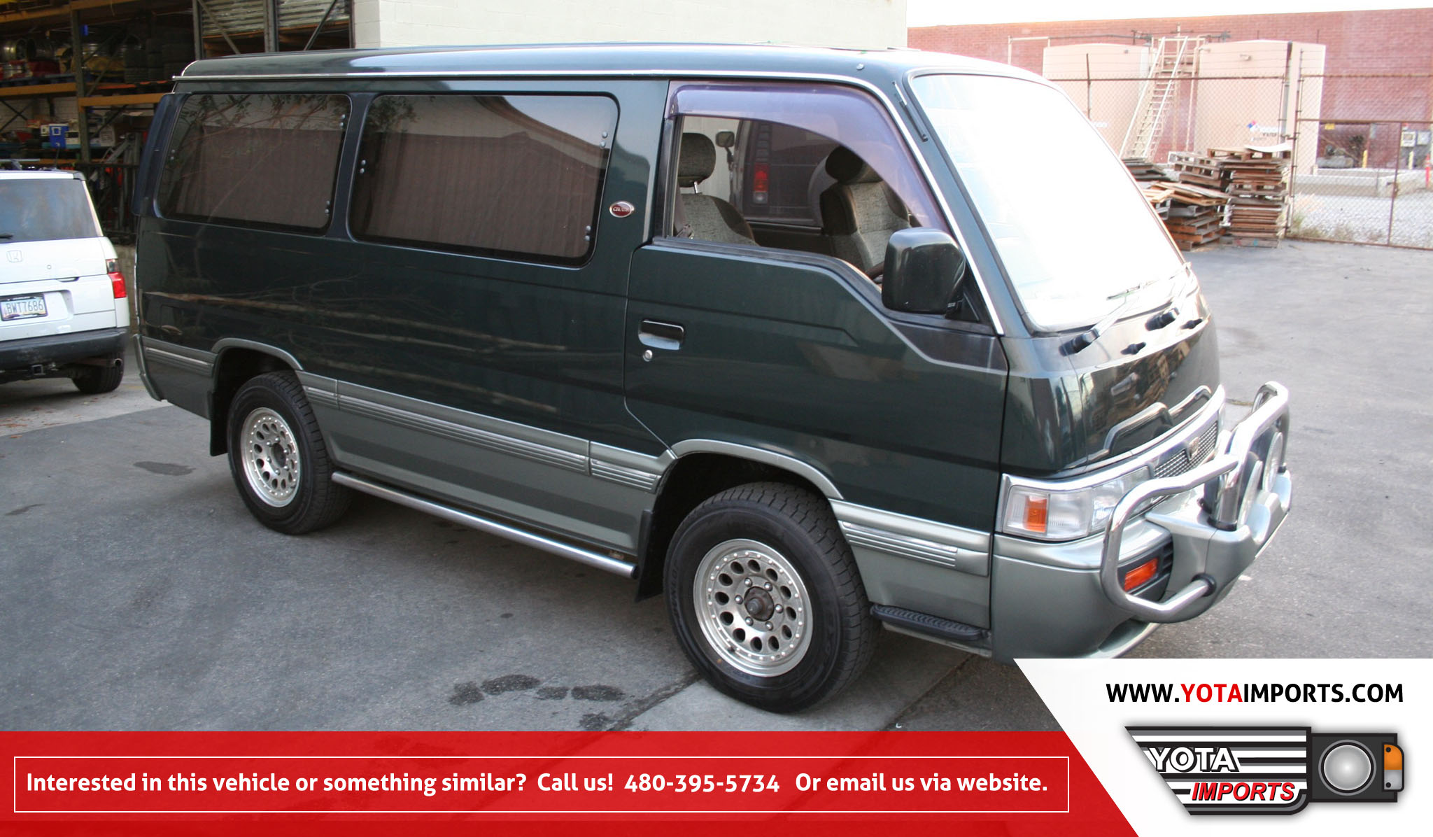 Nissan Homy IV Restyling 1990 - 1997 Minivan #6