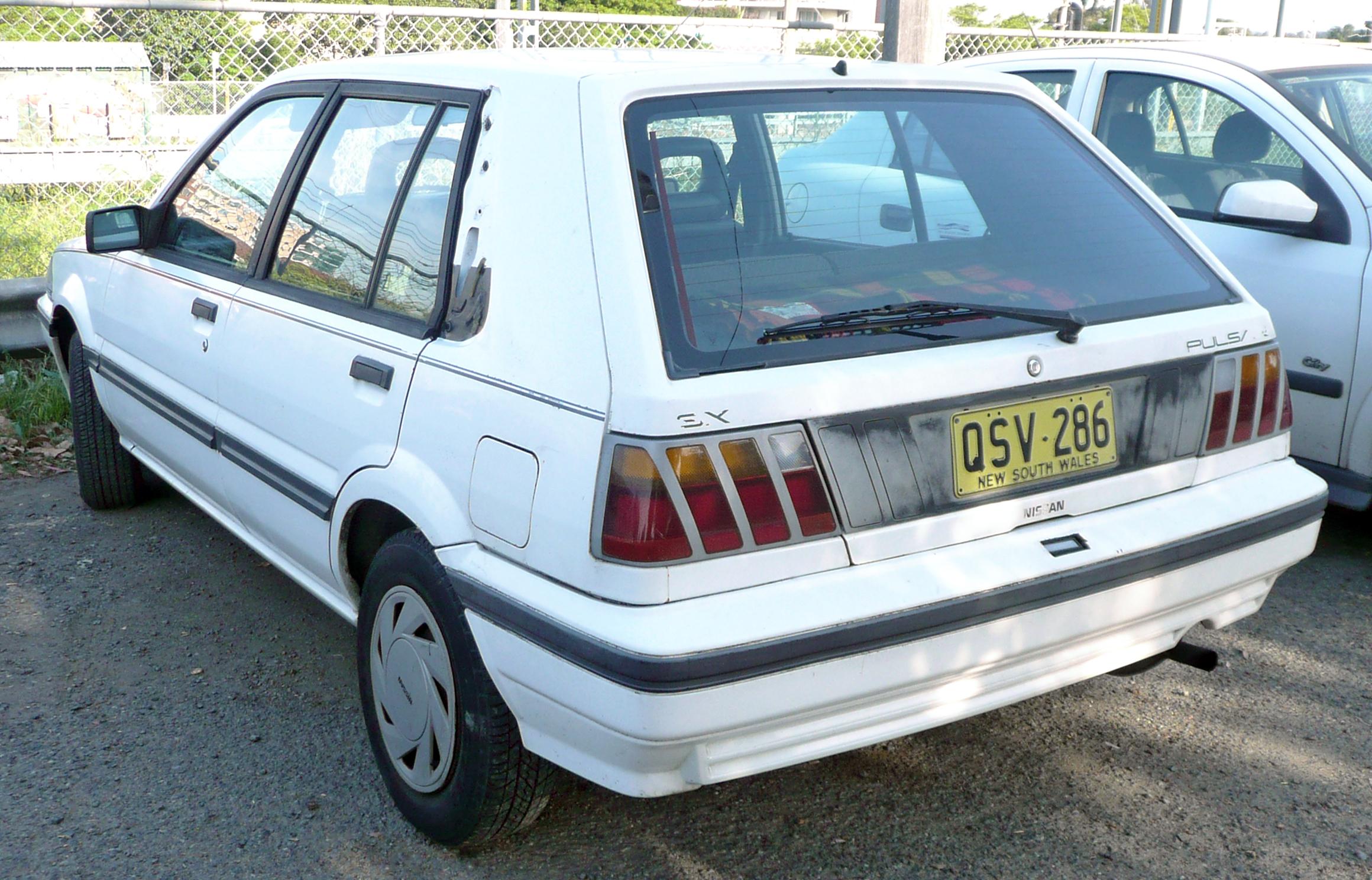 Nissan Pulsar III (N13) 1986 - 1990 Sedan #2
