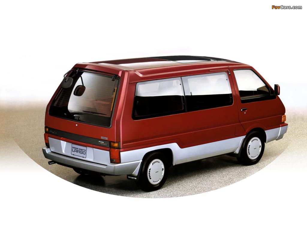 Nissan Largo II (GC22) 1986 - 1993 Minivan #7