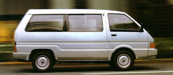Nissan Largo II (GC22) 1986 - 1993 Minivan #2