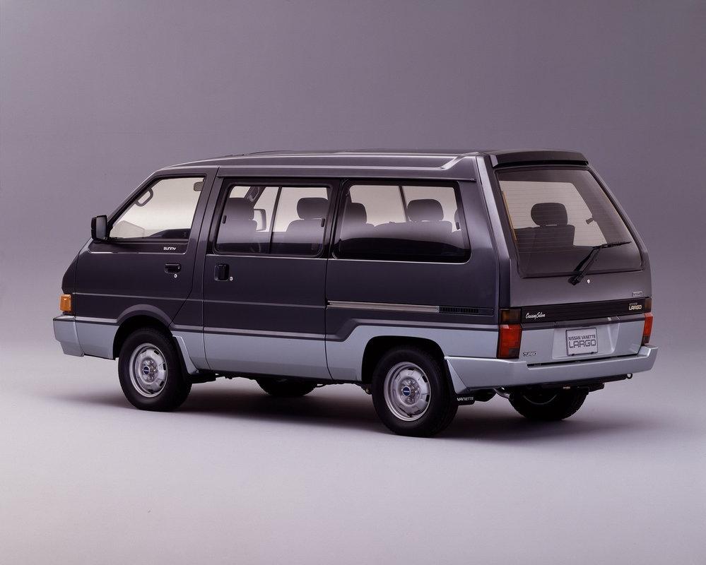 Nissan Largo II (GC22) 1986 - 1993 Minivan #1