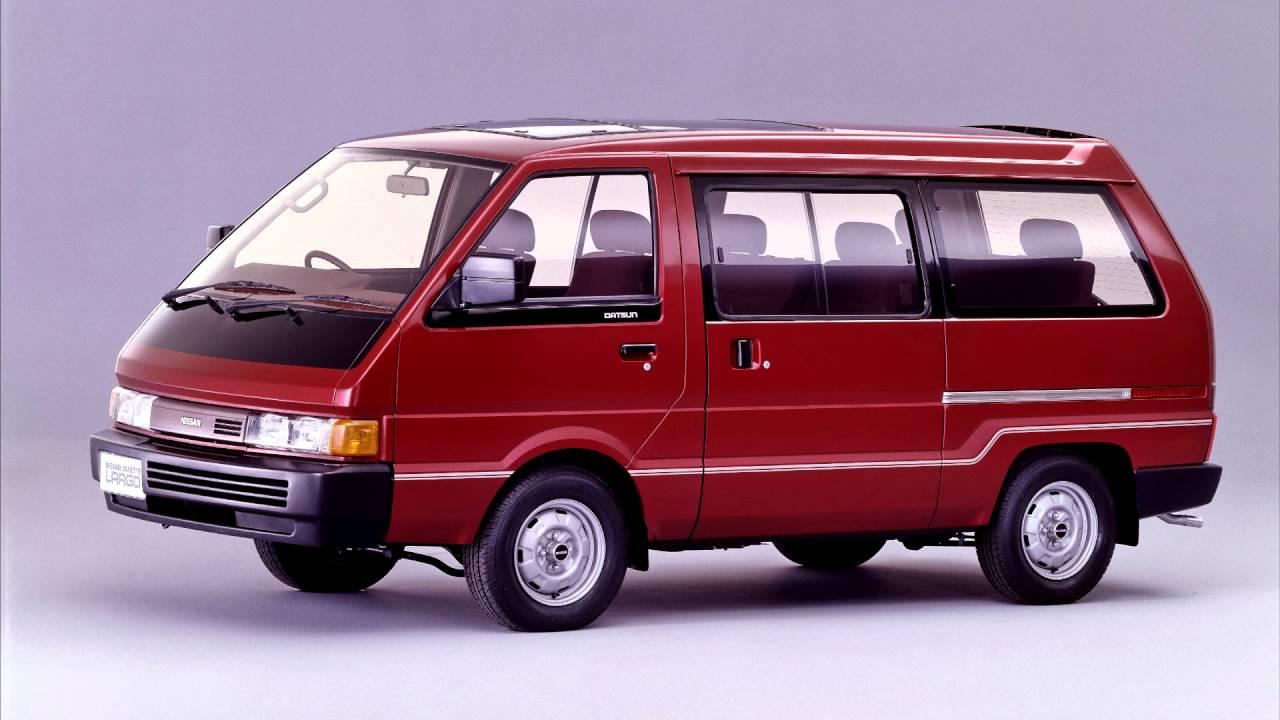 Nissan Largo II (GC22) 1986 - 1993 Minivan #6