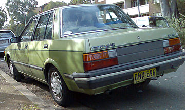 Nissan Pulsar III (N13) 1986 - 1990 Sedan #5