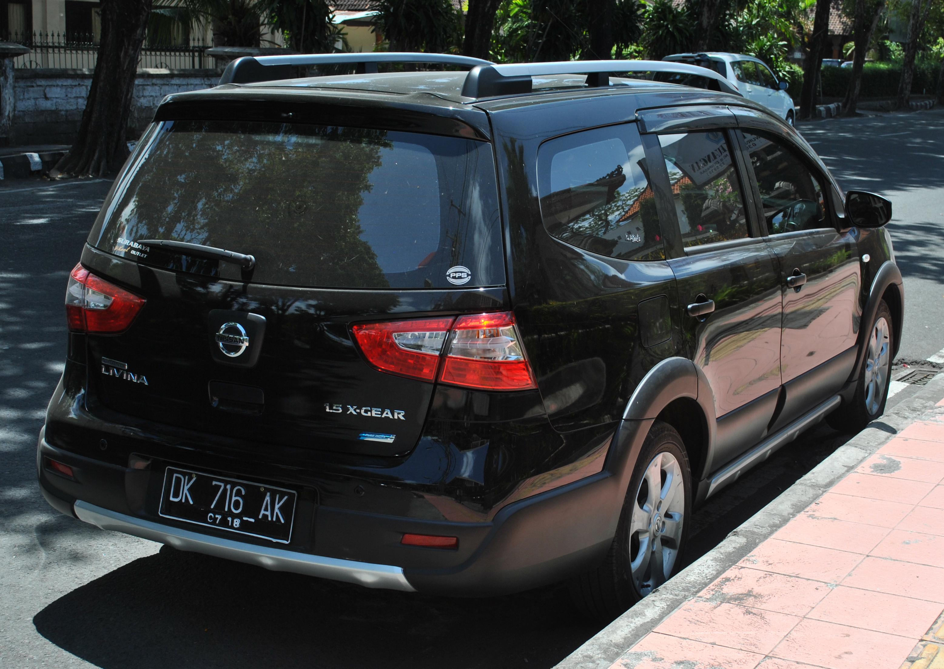 Nissan Livina I 2006 - 2013 Minivan #1
