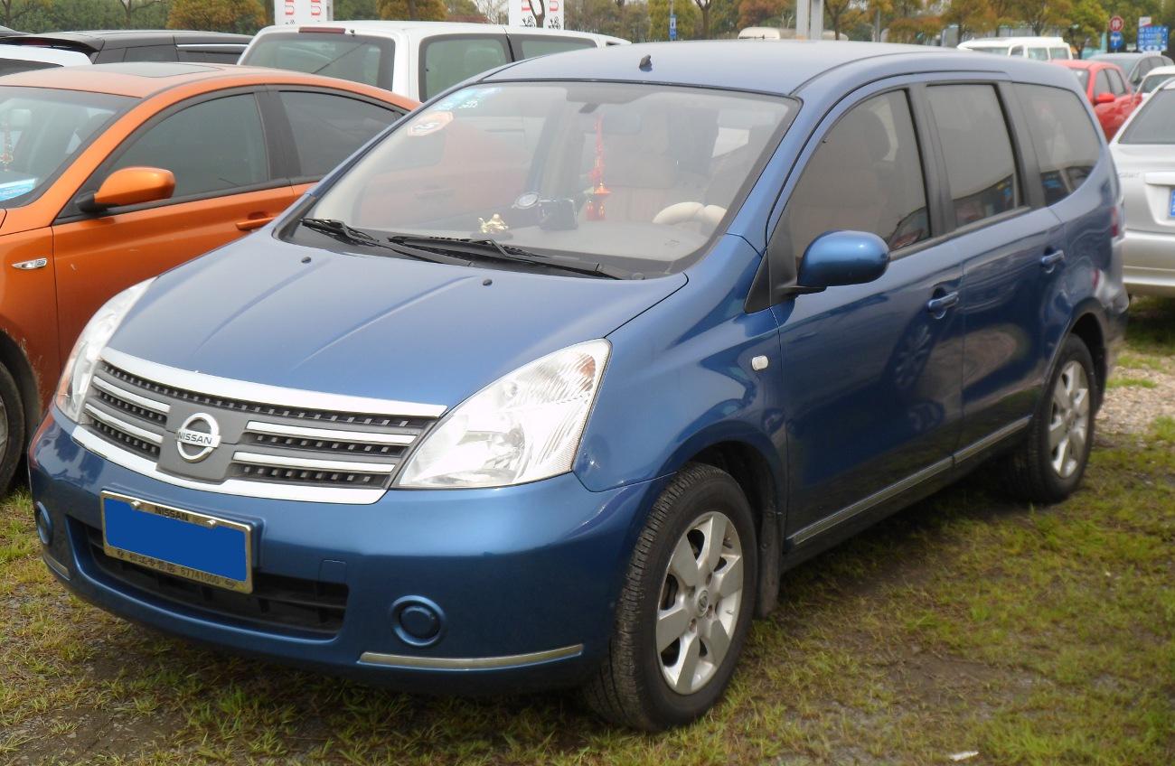 Nissan Livina I 2006 - 2013 Minivan #4