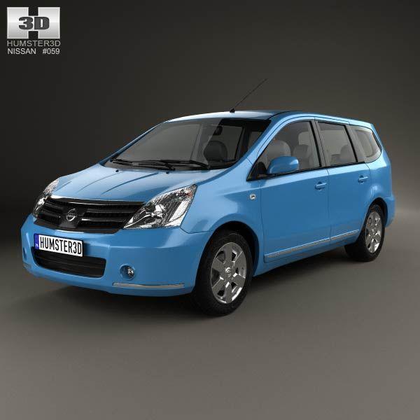 Nissan Livina I 2006 - 2013 Minivan #3