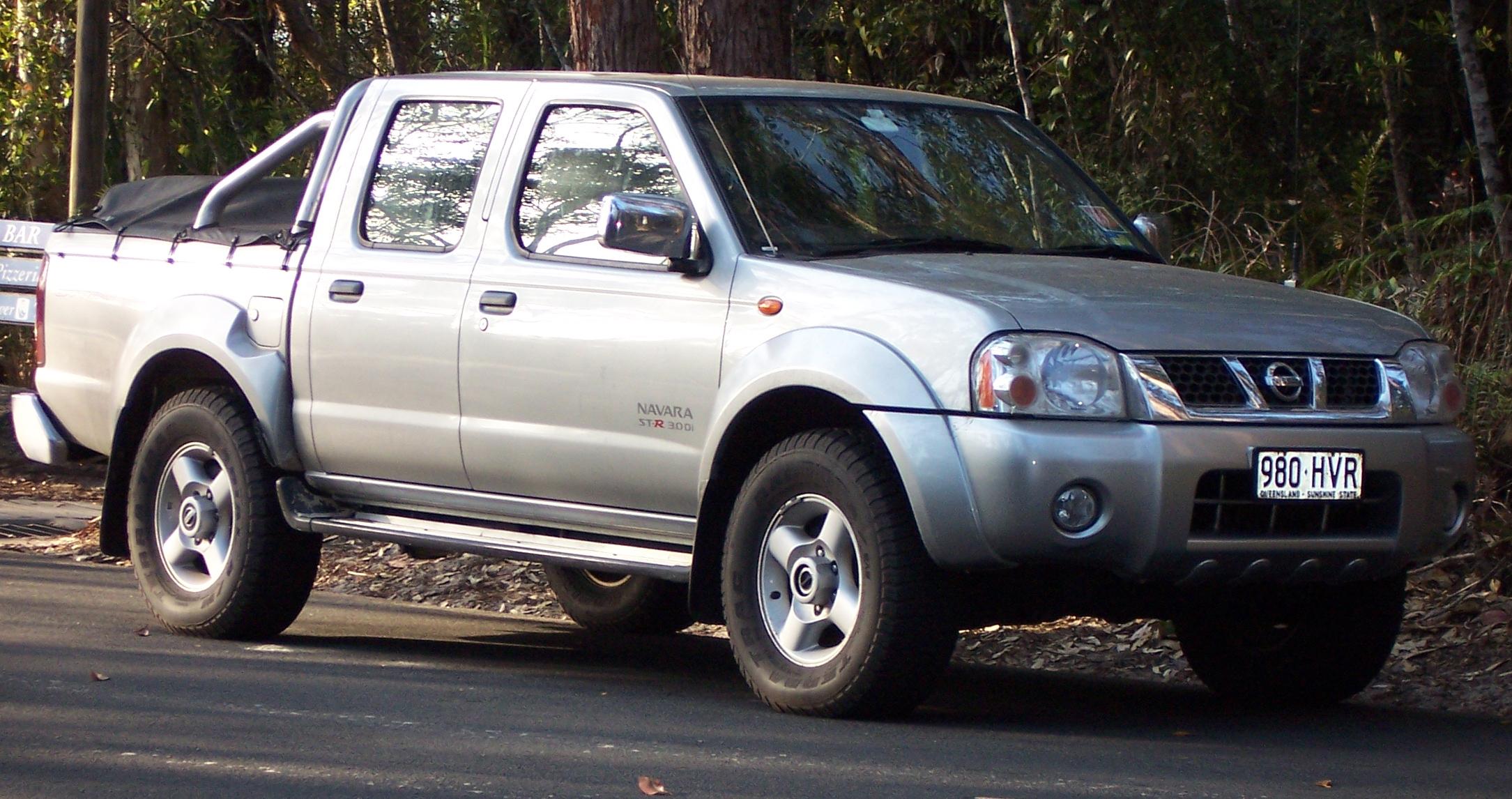 Nissan Navara (Frontier) II (D22) 1997 - 2004 Pickup #7