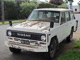 Nissan Patrol III (K160, K260) 1980 - 1994 SUV 3 door #8