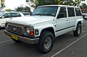 Nissan Safari IV (Y60) 1989 - 1997 SUV 3 door #8