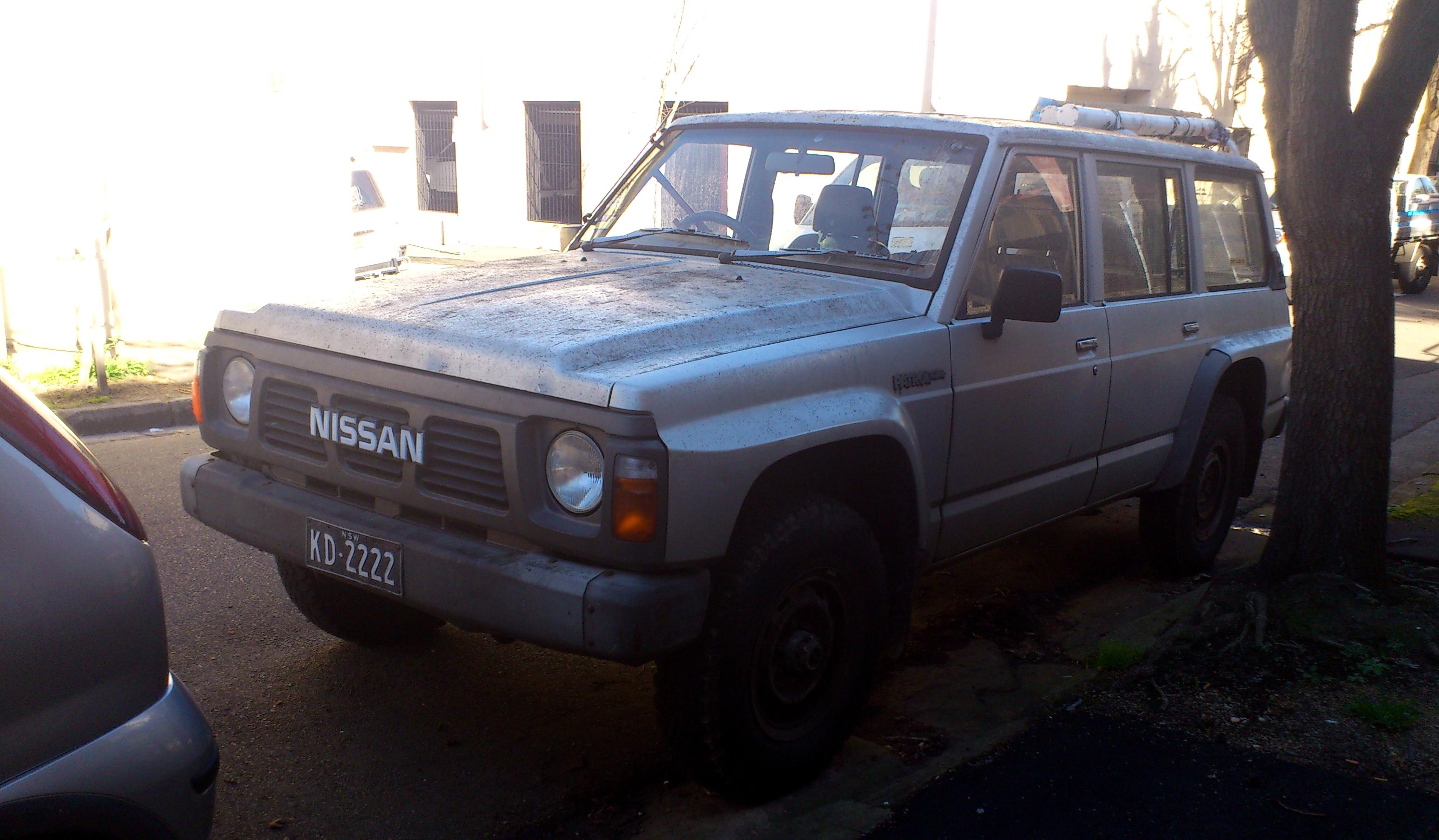 Nissan Patrol III (K160, K260) 1980 - 1994 SUV 3 door #5