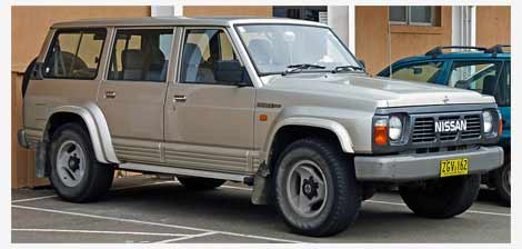Nissan Safari IV (Y60) 1989 - 1997 SUV 5 door #6