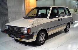 Nissan Prairie I (M10) 1982 - 1988 Compact MPV #7