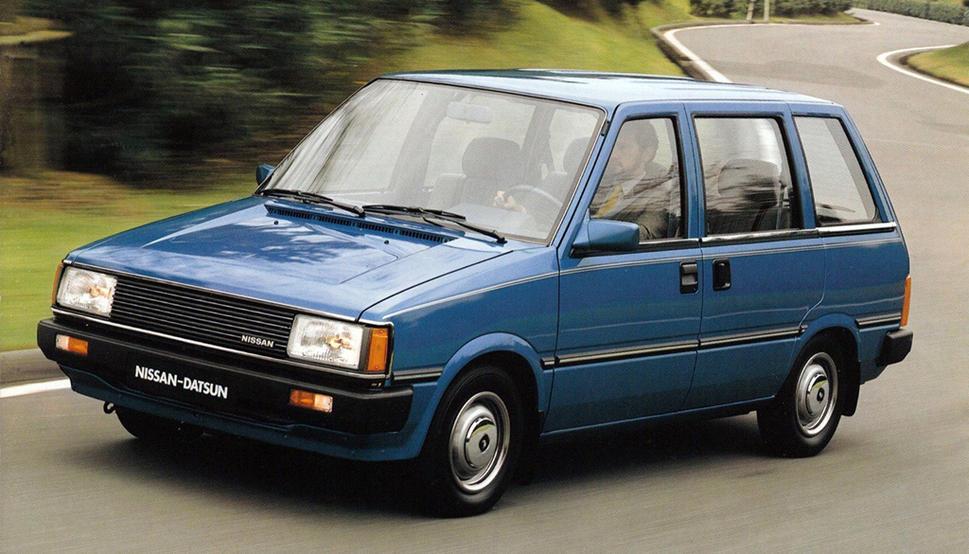 Nissan Prairie I (M10) 1982 - 1988 Compact MPV #6