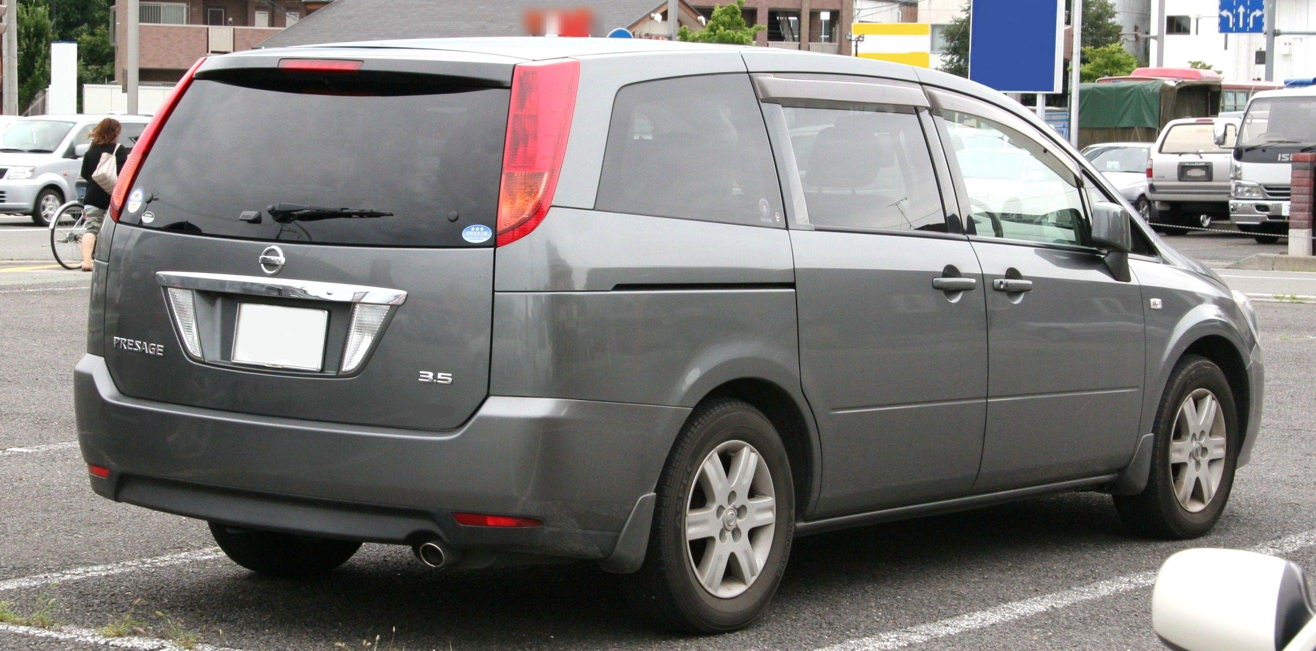 Nissan Presage II 2003 - 2009 Minivan #6